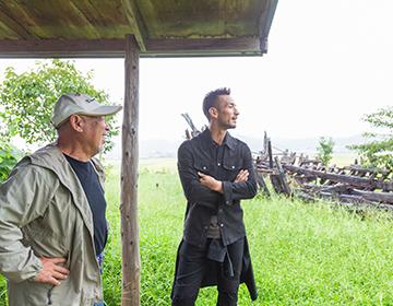 "Hidetoshi Nakata travels around Fukushima <#06> Arriving in Fukushima – ""Reconstruction and Art"""