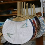 "Functional and beautiful, Boshu uchiwa (fan) ""Uyama workshop, Masao Uyama"""
