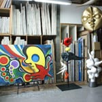 """Taro Okamoto Memorial Museum"" What was left in the studio"