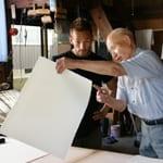 "Making quality paper out of plants ""Echizen Washi, Ichibei Iwano"""