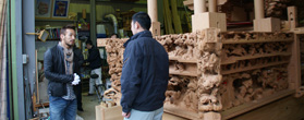 町のシンボル、だんじりを作る「泉谷工務店」