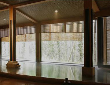 "Inn with Hot Springs which have Medicinal Qualities ""Mansuirou"""