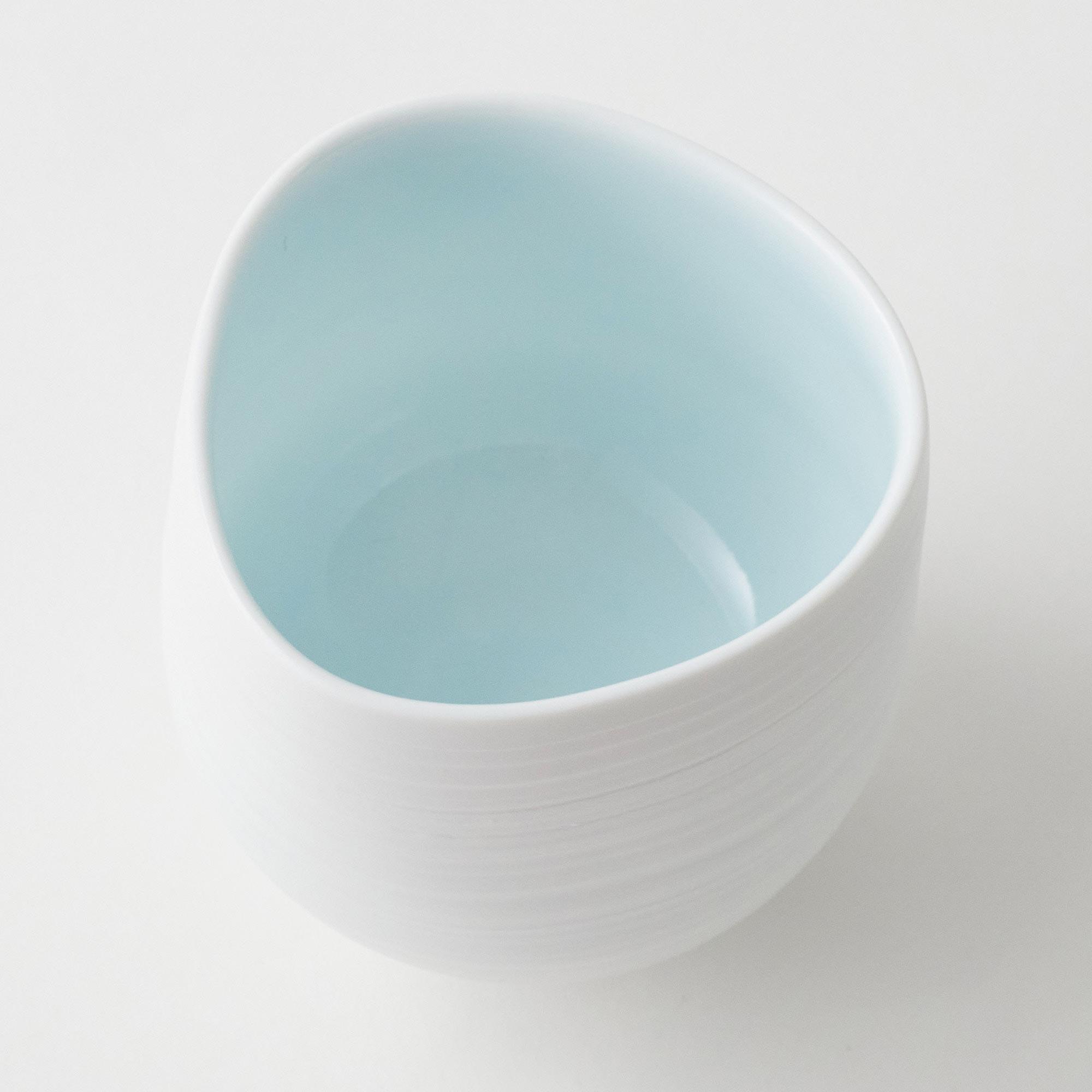 白妙磁湯呑