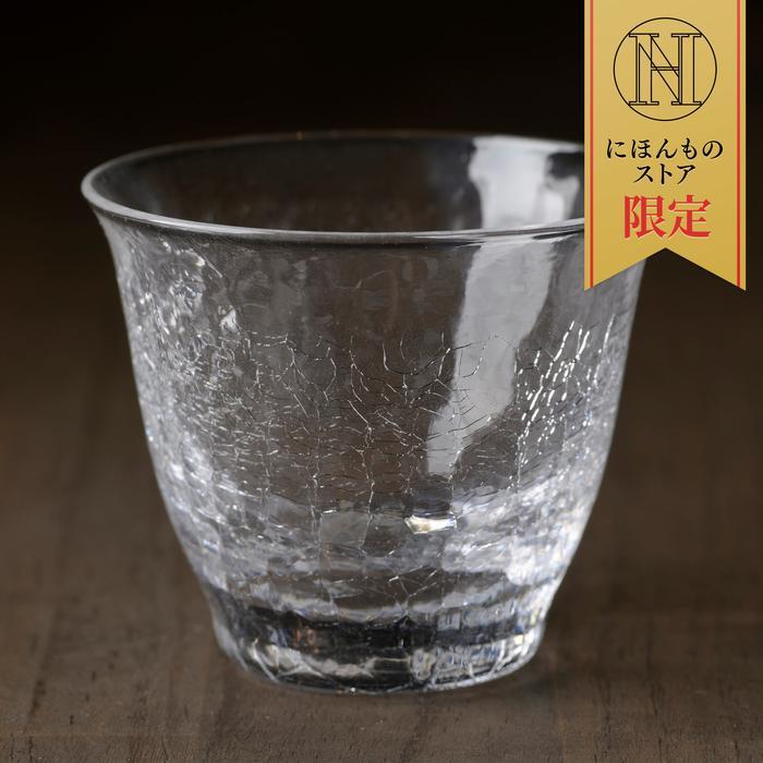 にほんものストアに限定商品「氷紋硝子 SAKEグラス」や「希少な梨」など新商品5点が追加