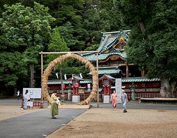 徳川ゆかりの神社「おせんげんさん」静岡浅間神社